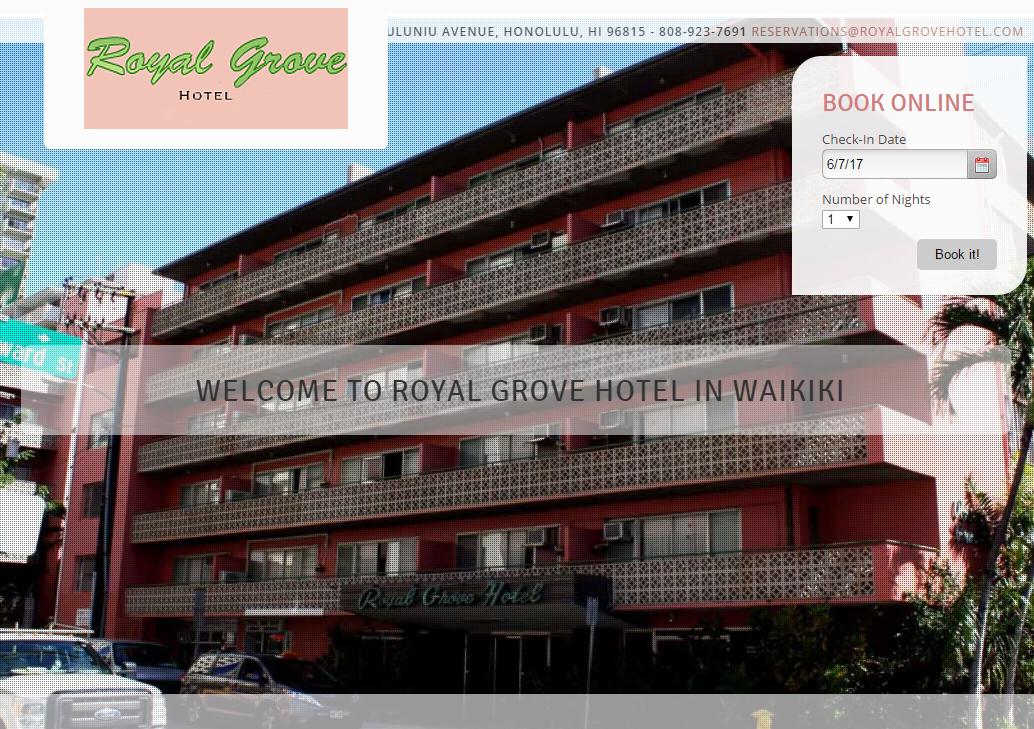 ロイヤルグローブホテルの口コミと格安プラン